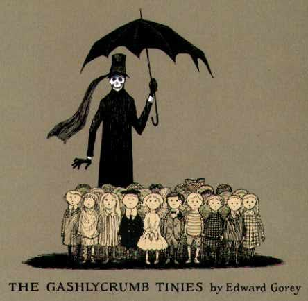The Gashlycrumb Tinies ($8)