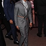 Michael B. Jordan at the Met Gala Afterparty