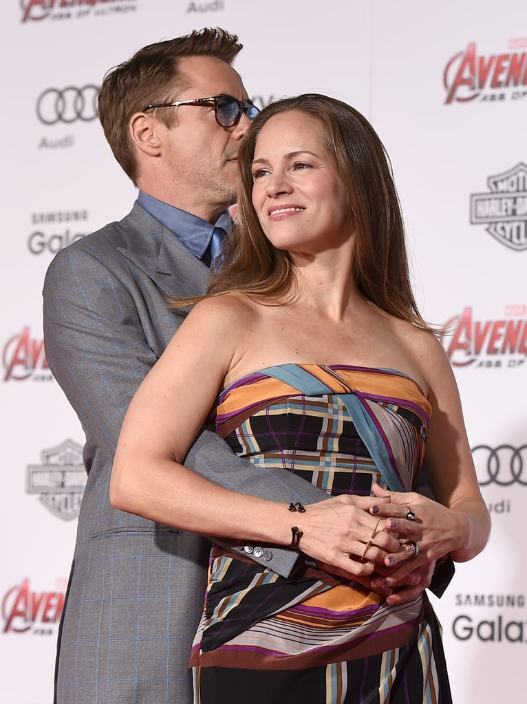 Robert Downey Jr. and His Wife Pictures