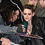 Kristen Stewart at the Charlie's Angels Premiere in London