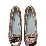 Chiara Ferragni Flirting Glitter Loafers