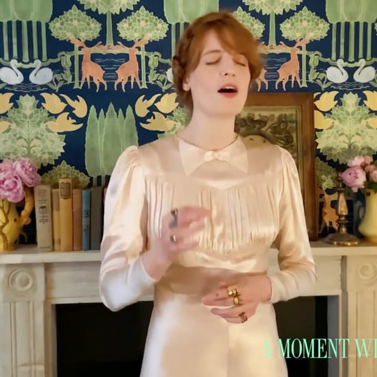 Florence Welch's Dress During A Moment With the Met