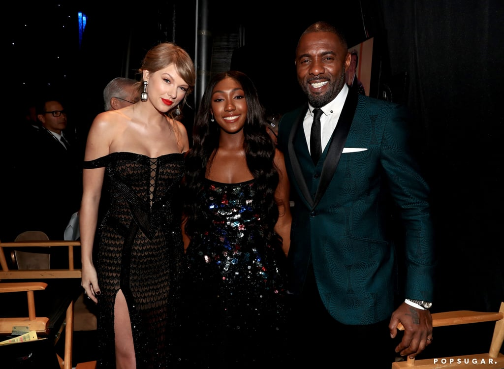 Pictured: Taylor Swift, Isan Elba, and Idris Elba