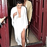 That Time She Was Dressed in All White