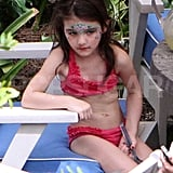 Suri Cruise in Miami.