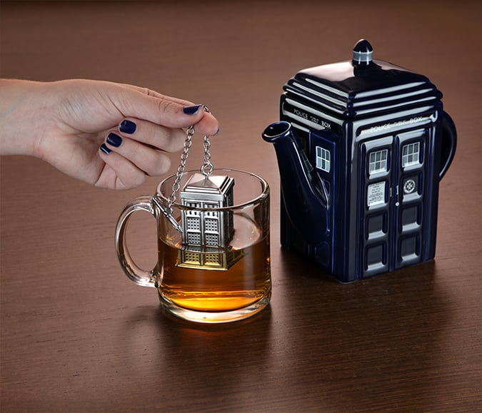 TARDIS Tea Infuser