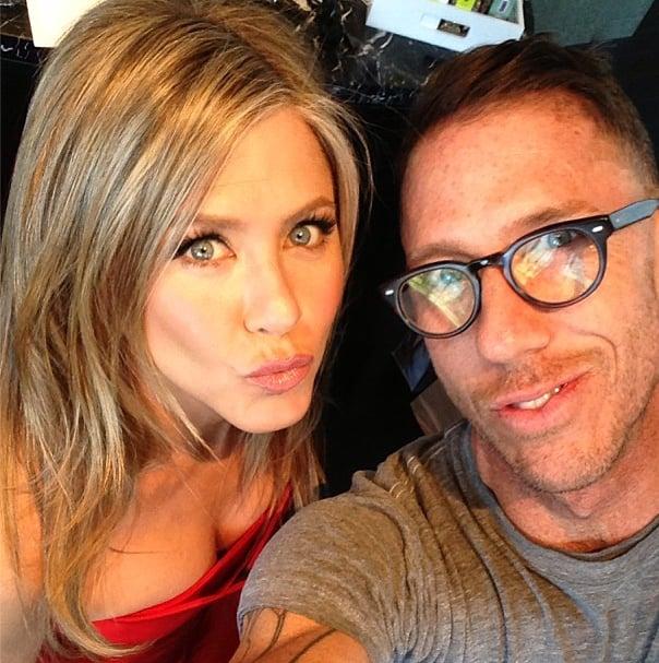 Jennifer Aniston and Chris McMillan