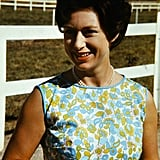Princess Margaret spending time on the Lewis Douglas Ranch near Tucson, Arizona, which she visited during her US tour.