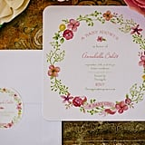The Tiny Prints invitation that inspired the shower.