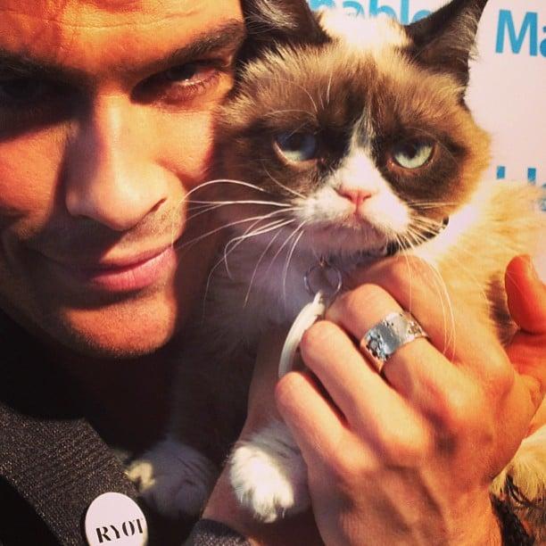 The Grumpy Cat Selfie