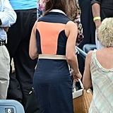 The back of Pippa's Paper London Rayleigh dress was just as interesting.