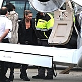 Kate and Jamie Take To the Skies Following Her Smokin' Runway Return