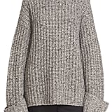 """""""I'm a firm believer in collecting sweaters in every color and style, which is why I want to add this oversize Elizabeth and James chunky turtleneck ($595) to my stash. It's simple, cozy, and looks like a sweater Gigi Hadid wore once, which is always a good reason to buy something."""" — Marina Liao, assistant editor, Fashion"""