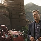 So we've got Bruce Banner (Mark Ruffalo), a disembodied Iron Man hand, and what looks like Wakanda in the background — what does it all mean?!