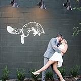 Coffee Shop Wedding Reception