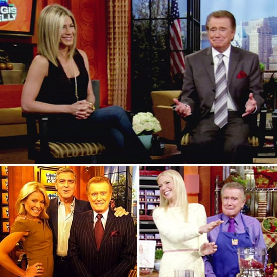 Farewell Regis —Celebrate His Retirement With a Look Back at His A-List Guests!