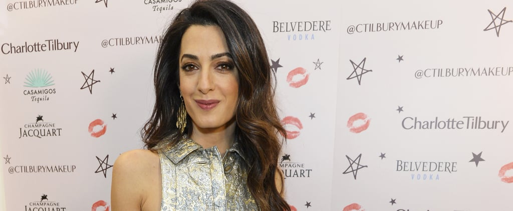 Amal Clooney Will Convince You to Wear a Crop Top and Culottes to the Holiday Party
