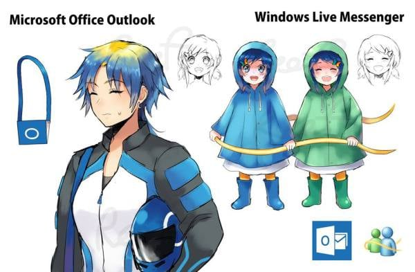 Microsoft Office Outlook and Windows Live Messenger