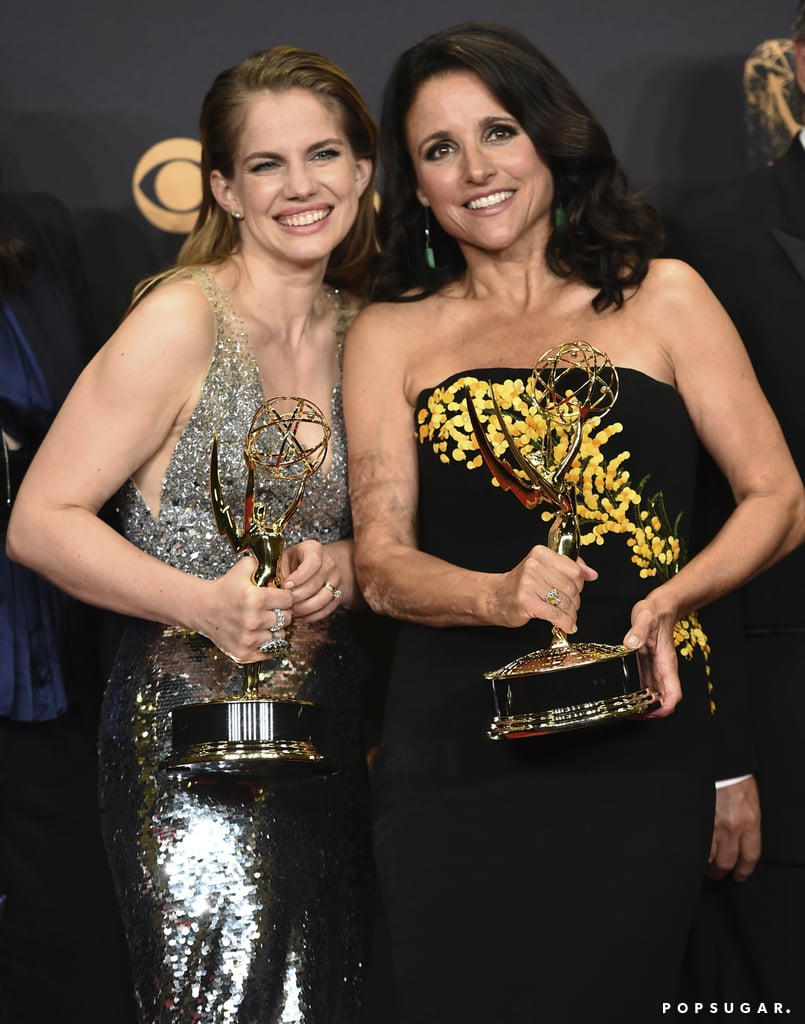 Anna Chlumsky and Julia Louis-Dreyfus
