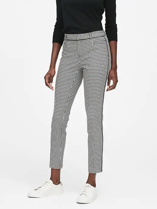 Black-and-White Houndstooth