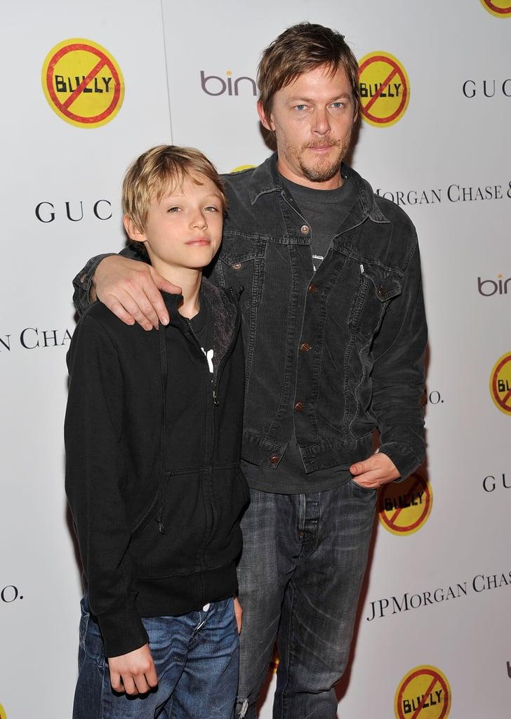 Norman Reedus and His Son Pictures | POPSUGAR Celebrity ... Katie Holmes Jamie Foxx