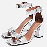 Topshop Suki Two-Part Sandals