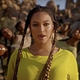 "Beyoncé's Lip Gloss and Highlighter in ""Spirit"" Music Video"