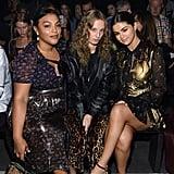 Selena Gomez Gold Dress at Coach Fashion Show September 2018