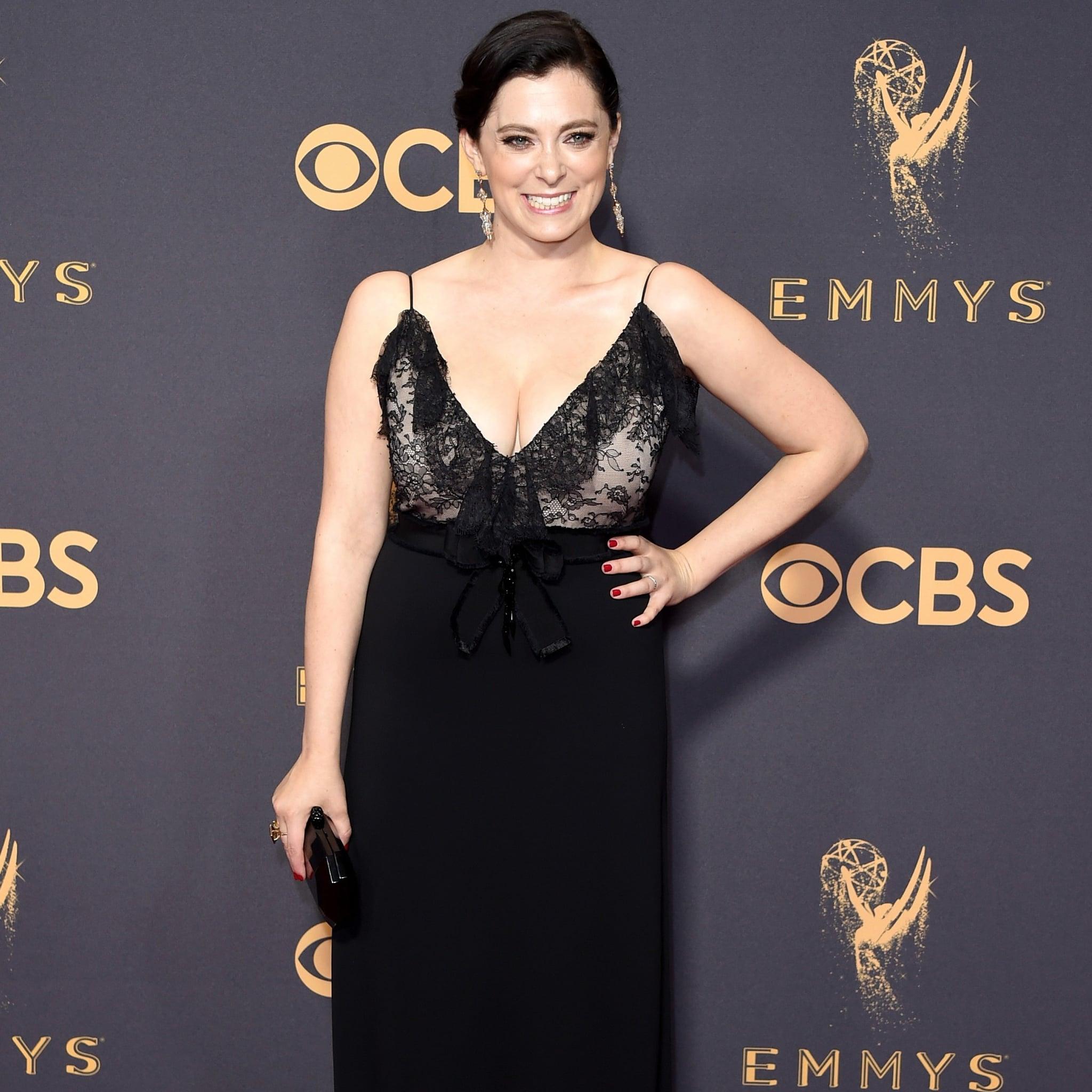 dd3074b58 Rachel Bloom Gucci Dress 2017 Emmy Awards | POPSUGAR Fashion
