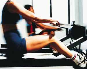 Cardio Workout: Rowing Machine
