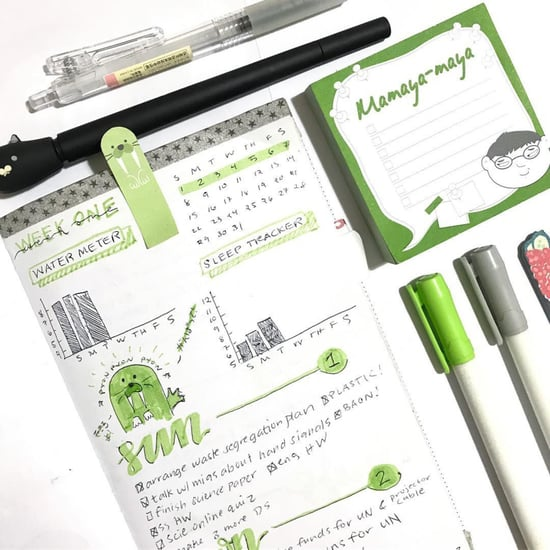 Water Tracker Bullet Journal Ideas