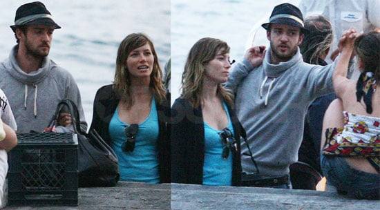 Photos of Justin Timberlake and Jessica