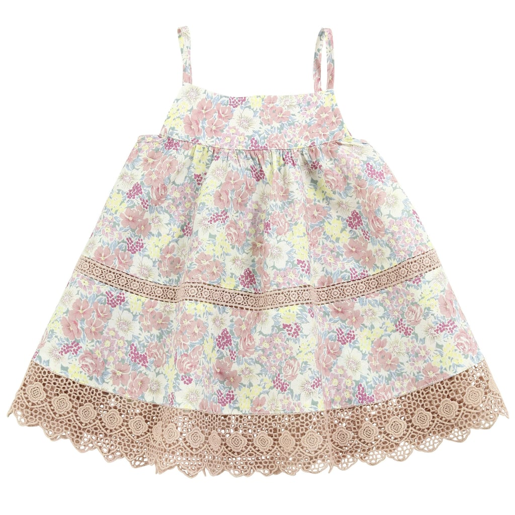 Troizenfants Flower-Printed Dress With Straps ($60)