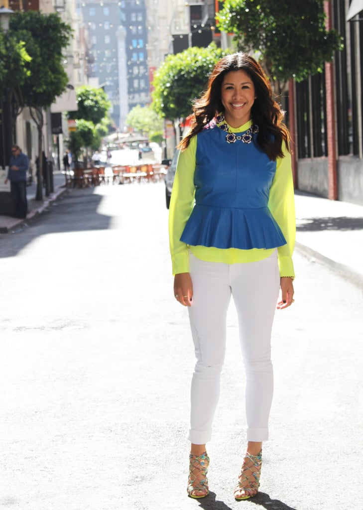 How to Wear White Jeans Trend 2014