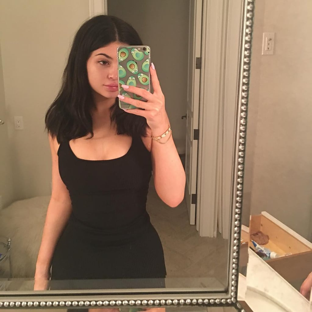 Kylie Jenner's Avocado iPhone Case