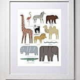 Animal Stack Print by Jay Cover