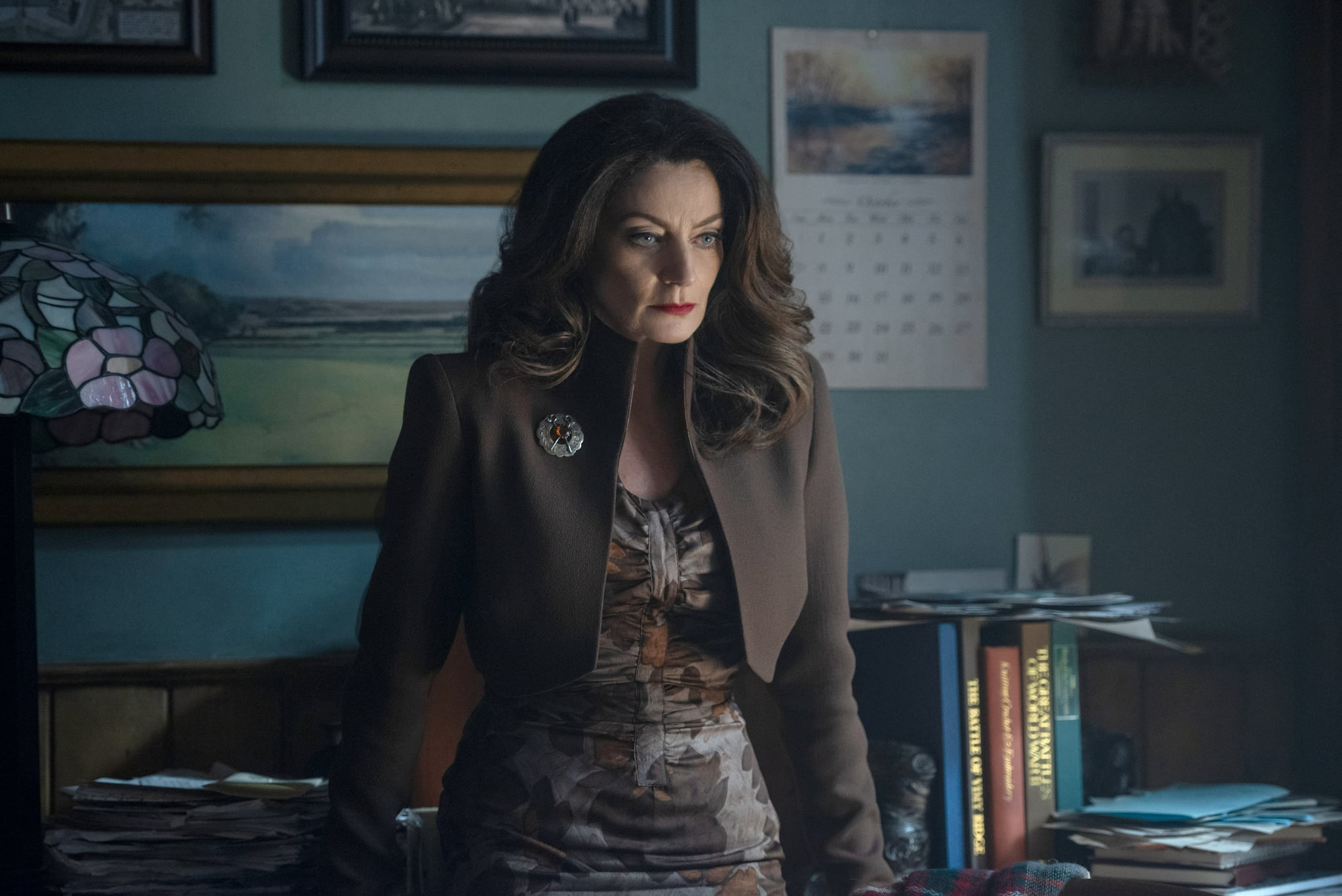 CHILLING ADVENTURES OF SABRINA, Michelle Gomez in 'Chapter One: October Country', (Season 1, Episode 101, aired October 26, 2018), ph: Diya Pera /  Netflix / courtesy Everett Collection
