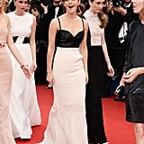 Emma Watson arrived at The Bling Ring premiere at Cannes on Thursday.