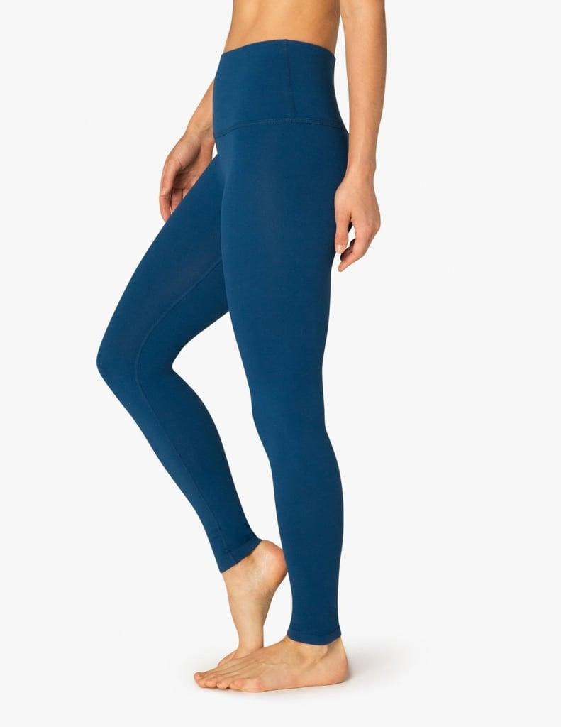 18e93d6b16b18 The best high waist yoga leggings popsugar fitness jpg 791x1024 Lululemon  wunder under stripe blue grey