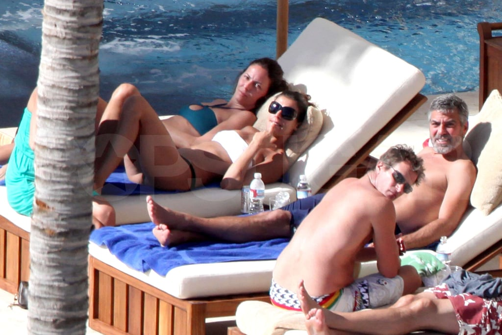 Photos of Clooney and Elisabetta in Mexico