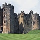 Alnwick Castle from Harry Potter — Northumberland, England