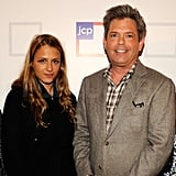 Charlotte Ronson stepped out for the early morning event at NYC's Pier 57.