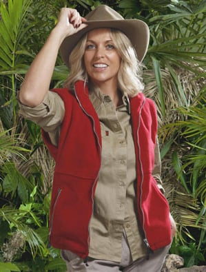 Sheryl Gascoigne is the First to Leave the I'm A Celebrity Get Me Out Of Here Jungle, Shaun Ryder Bitten By Snake