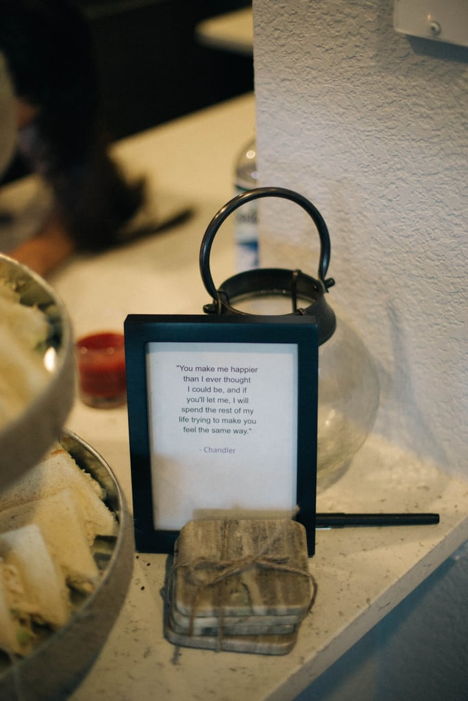 Friends-Themed Bridal Shower