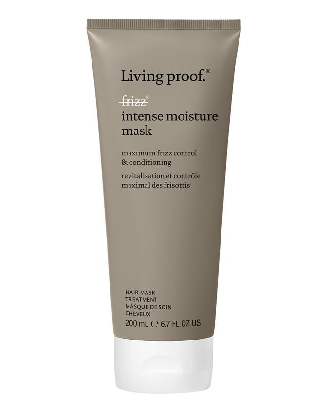 For Curly Hair Textures: Living Proof No Frizz Intense Moisture Mask