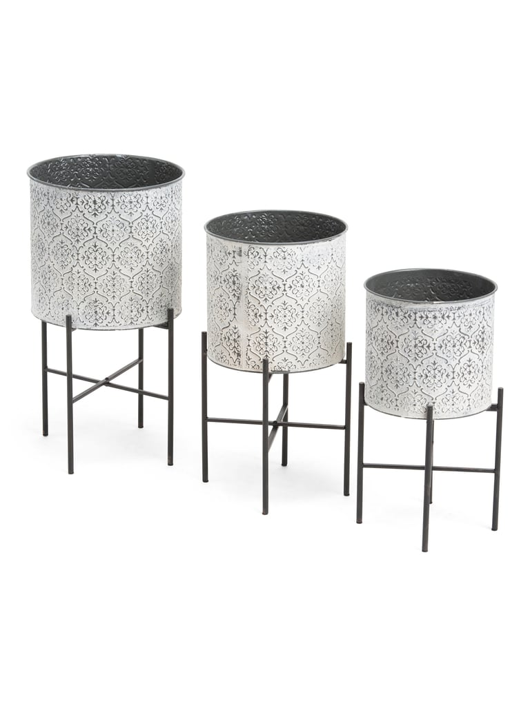 Indoor Outdoor Metal Plant Stands Tj Maxx Brought The Heat With Its Inexpensive Outdoor Collection And We Want It All Popsugar Home Photo 56