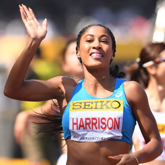 Queen Harrison-Claye's 5-Minute High-Intensity Workout