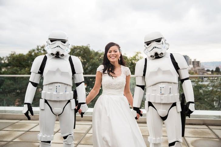 Star Wars Wedding.Star Wars Wedding Ideas Popsugar Tech
