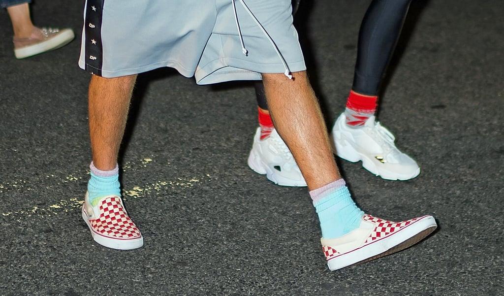 Justin Bieber Hailey Baldwin Matching Shoes and Socks 2018 ...