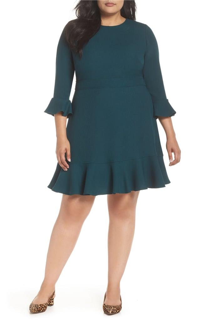 b1046d7d59d Eliza J Bell Sleeve Fit   Flare Dress
